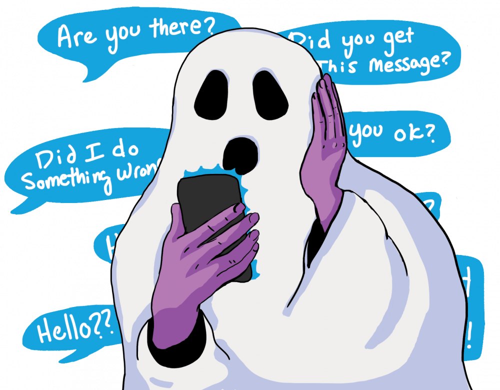 It's ghost or be ghosted: UNC students tell us about this dating disappearing act