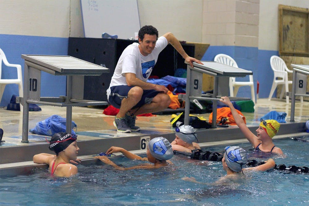 Heart defect almost forced UNC alum to quit swimming
