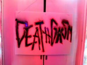 "One of St. Anthony Hall's parties last year had the theme ""Deathgasm"" (courtesy Rachel Blythe)"