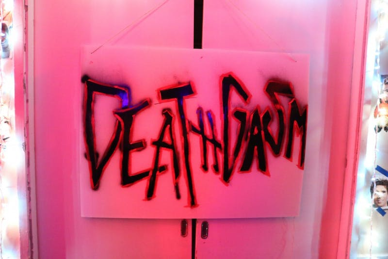 """One of St. Anthony Hall's parties last year had the theme """"Deathgasm"""" (courtesy Rachel Blythe)"""