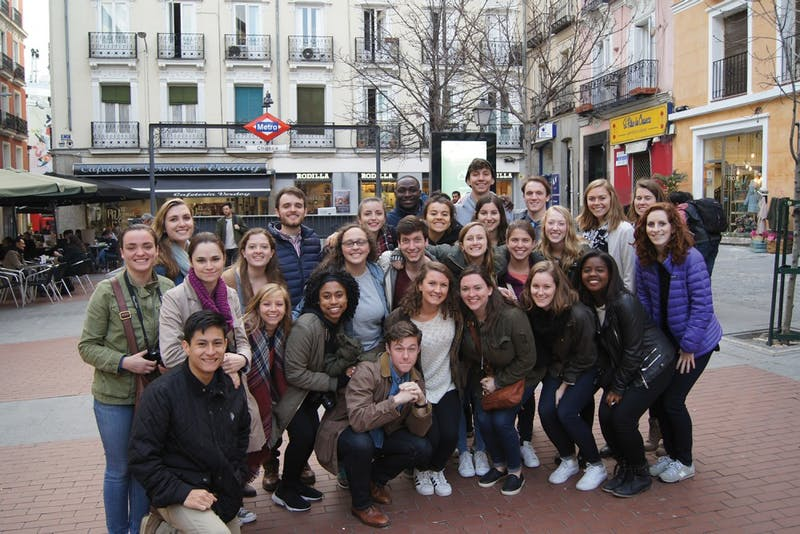 Aurora Fulp and other UNC students currently in Sevilla took a program excursion to Madrid Feb. 16-18. Photo Courtesy of Aurora Fulp