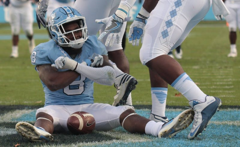 UNC defeated The Citadel 41-7 on Saturday ay Kenan Stadium on Military Appreciation Day.