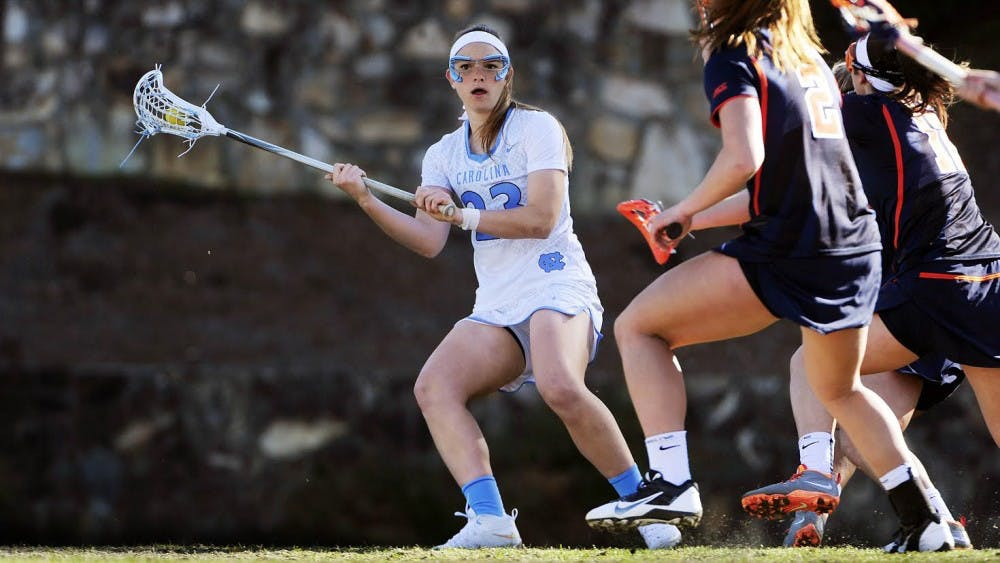 UNC women's lacrosse player earning the true 'mark of a leader'