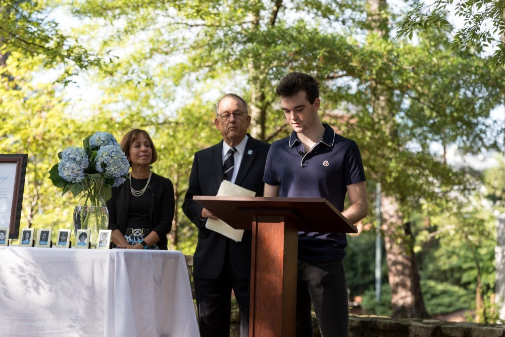 General Alumni Association honors alumni who died on 9/11