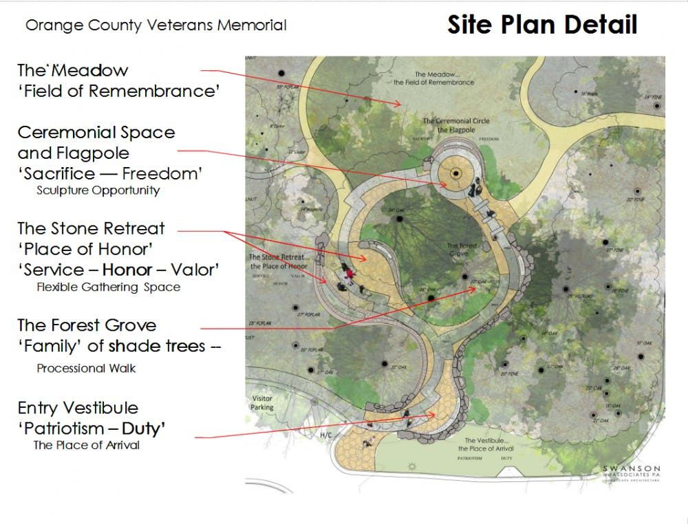 Orange County Veterans Memorial construction enters phase II after receiving funding