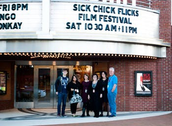The Sick Chick Flicks Film Festival highlights the role of women in the film industry. Photo courtesy Christine Parker.