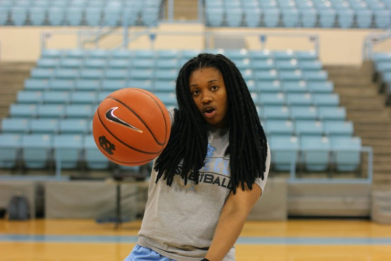 Hillary Fuller is a redshirt senior in her fifth year on UNC's women's basketball team.