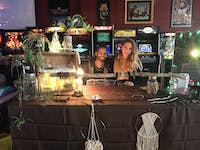 Damn! Gina owner Gina Kowalski and jewelry maker Brandon Bass made and sold their macrame and beaded jewelry at Rumors Boutique's Small Business Saturday market on Nov. 24. This was their first time publicly selling their products.