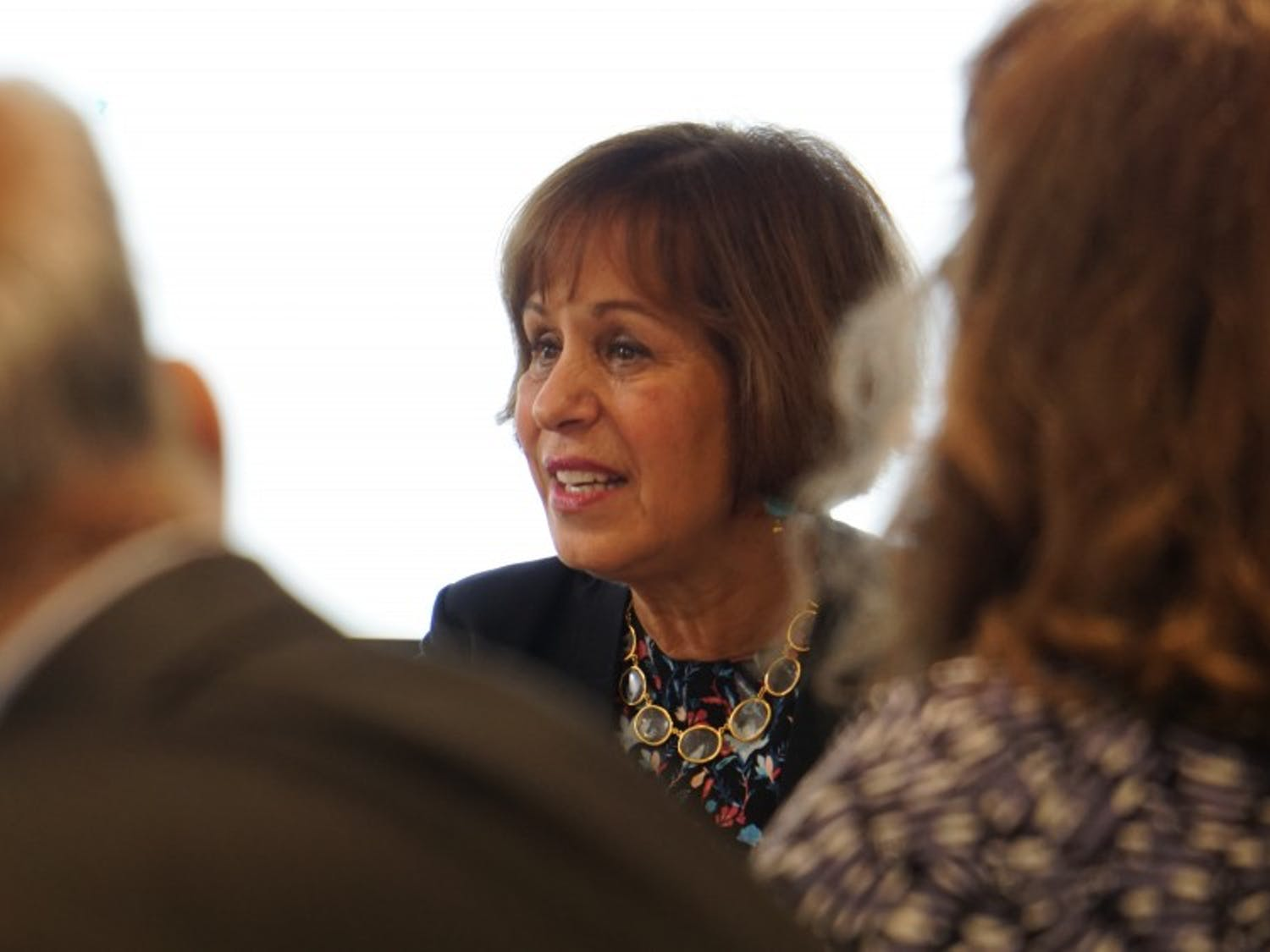 Chancellor Carol Folt during an executive committee meeting on Monday, Sept. 24.