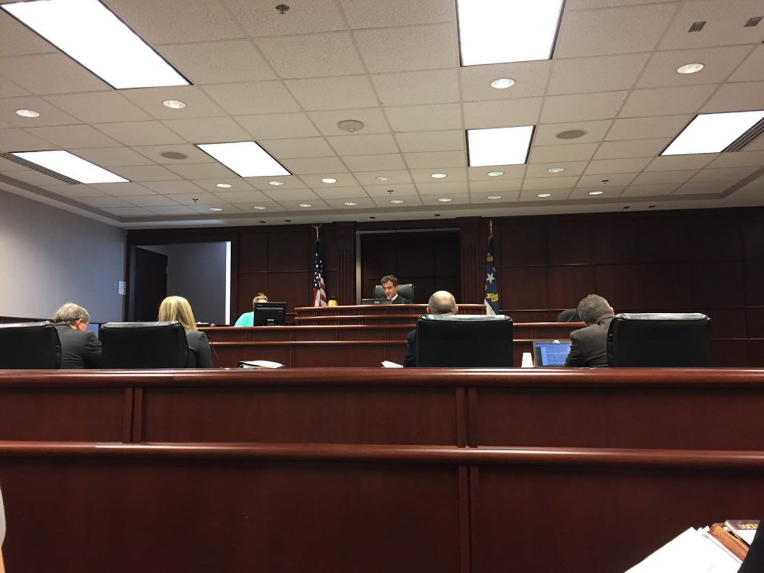 The Daily Tar Heel v. UNC hearing today had lawyers on both sides present their arguments. No resolution was made.