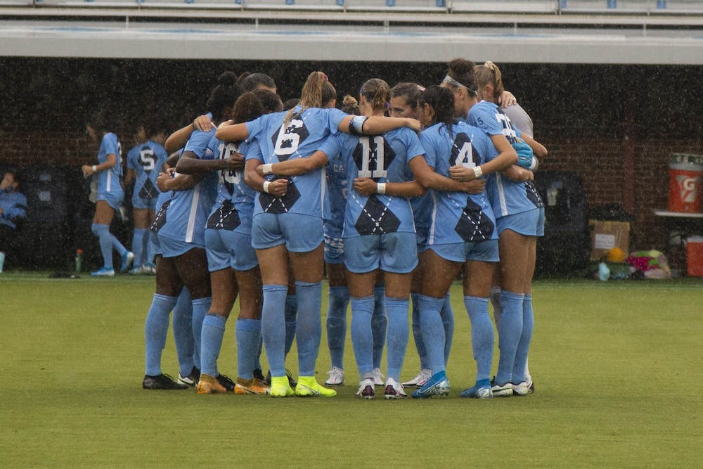 North Carolina women's soccer defeats Wake Forest 4-1 in first game of the season