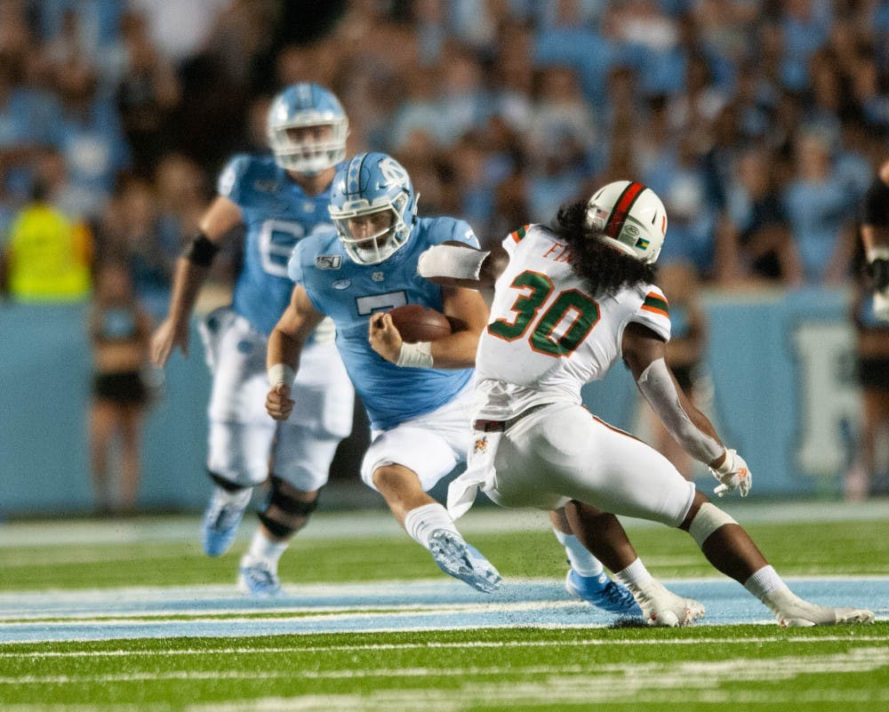 Preview: UNC football looks to win QB battle against Wake Forest