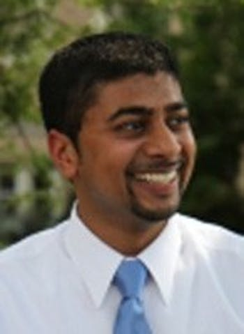 Atul Bhula was re-elected by delegates to be president of the Association of Student Governments.