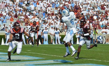 Sean Tapley scored twice against Virginia Tech Saturday and was named ACC Specialist of the Week.