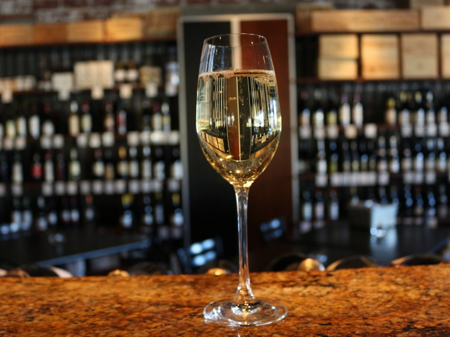 Glasshalfull, located in downtown Carrboro, is a restaurant, bar, and wine shop that contributes 10% of their sales every Tuesday and Wednesday to local charities, such as PORCH and Orange County Literacy Council. The food and wine offered is influenced by the Mediterranean, and the wine shop offers hundreds of selections from around the world.