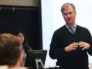 Chancellor Thorp spoke at the Student Congress meeting Tuesday night. Chancellor Thorp spoke at the Student Congress meeting Tuesday night about the state of the university.