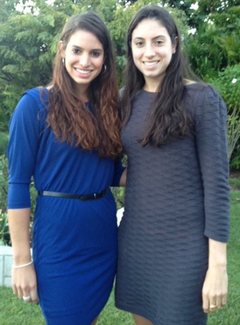 <p>Sisters Lauren and Christina McHale have played tennis since learning to play in 1995</p>