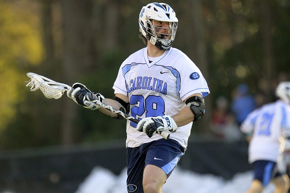 The men's lacrosse team beats No. 1 Denver for the first time since Feb. 14, 2009