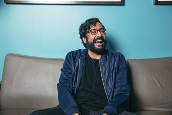 Hari Kondabolu will perform his stand-up comedy at Motorco Music Hall in Durham on Feb. 19, 2020. Photo courtesy Rob Holysz.