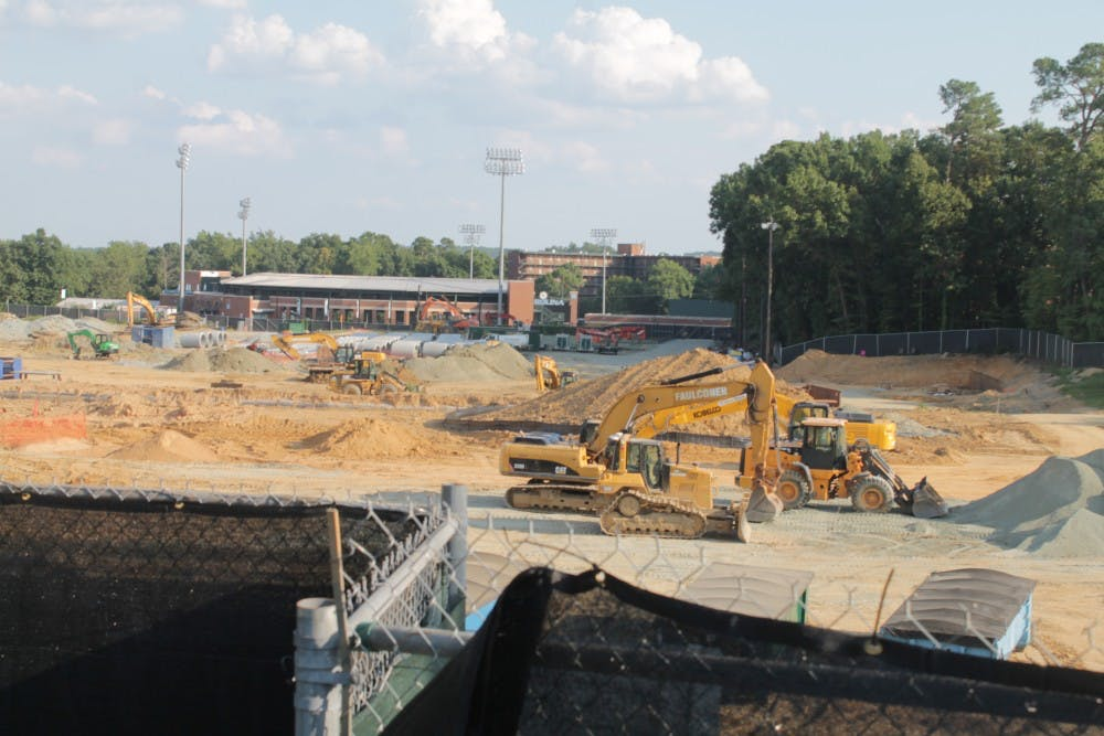Fetzer Field, football renovation project will not be completed by original timeline