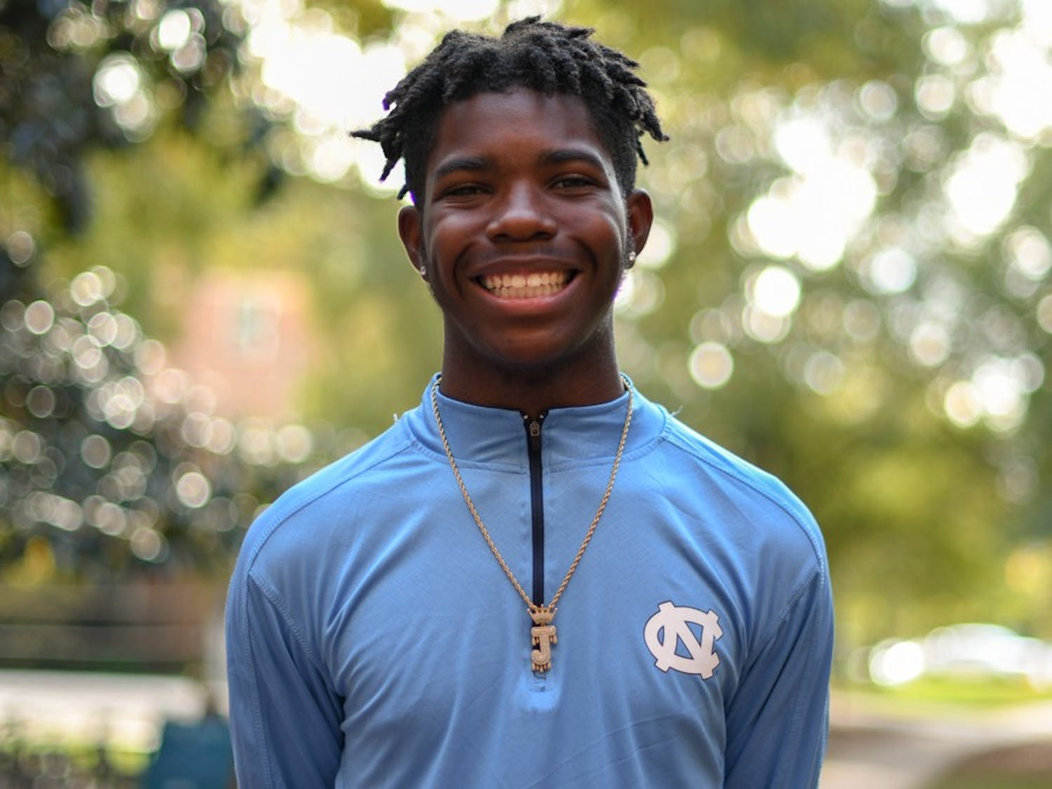 Jamal Smith, a first year undergraduate student at UNC, discusses how Project Uplift is special to him. Smith says the sense of community that he felt at Project Uplift, and the friendships he made were the reason why he chose UNC over Duke.