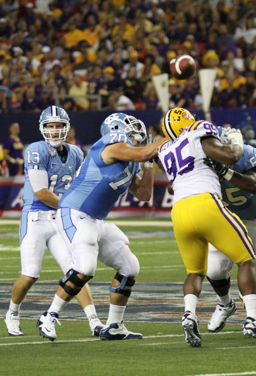 Heroic comeback falls short vs. LSU