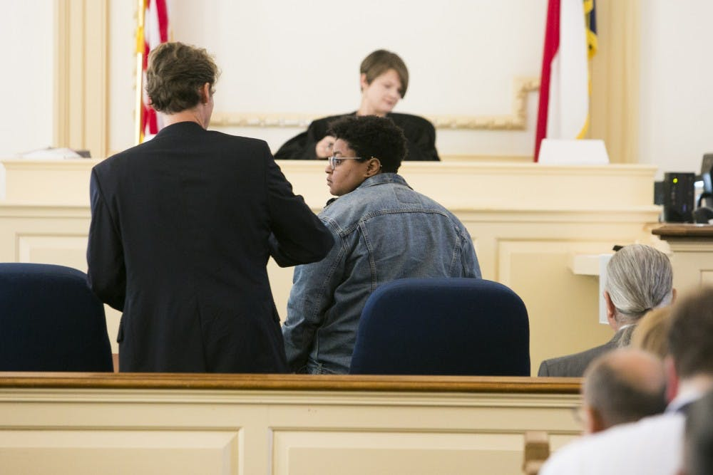Maya Little found guilty of defacing Silent Sam