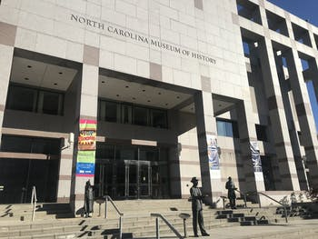 The North Carolina Museum of Natural History is located in Downtown Raleigh and is run by the North Carolina Department of Cultural Resources.
