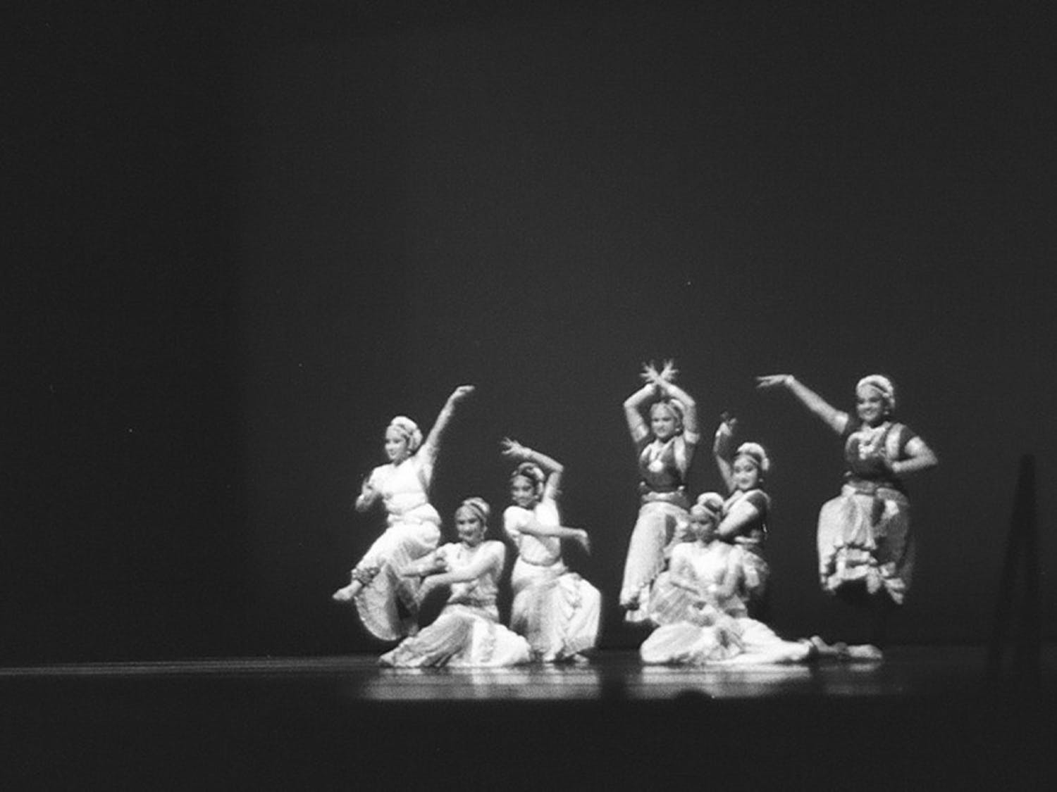Ek Taal, a Bharthanatyum dance group,performs at Journey into Asia last spring.