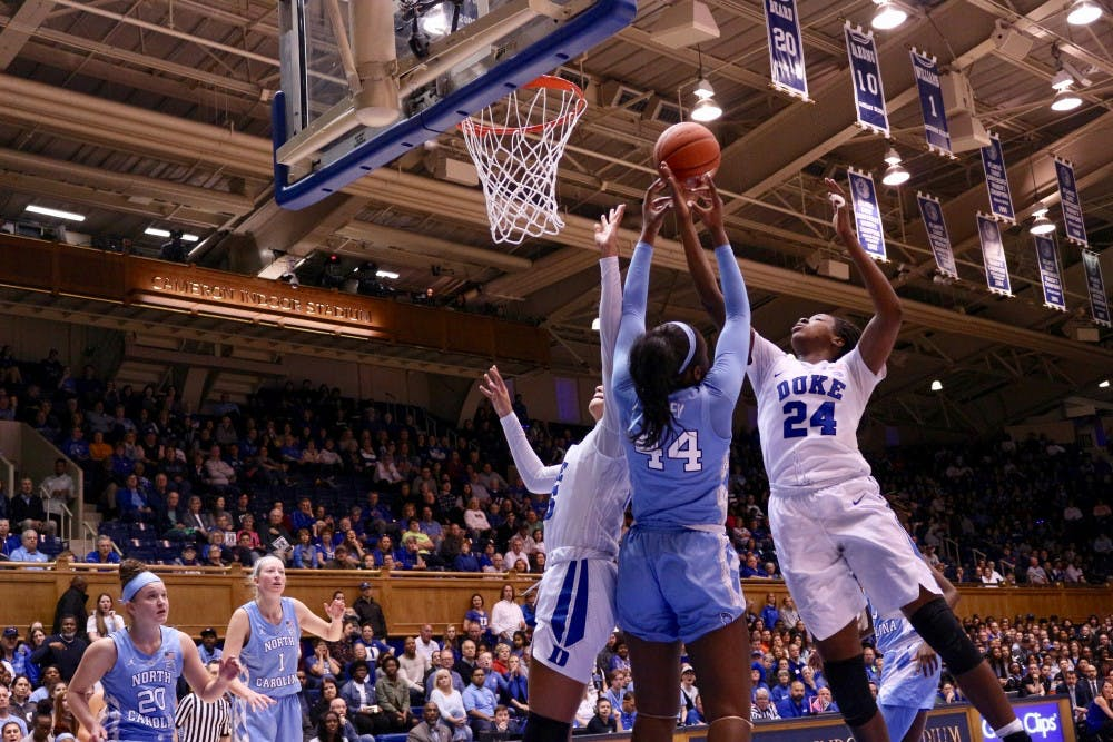UNC women's basketball drops regular season finale against Duke due to poor shooting