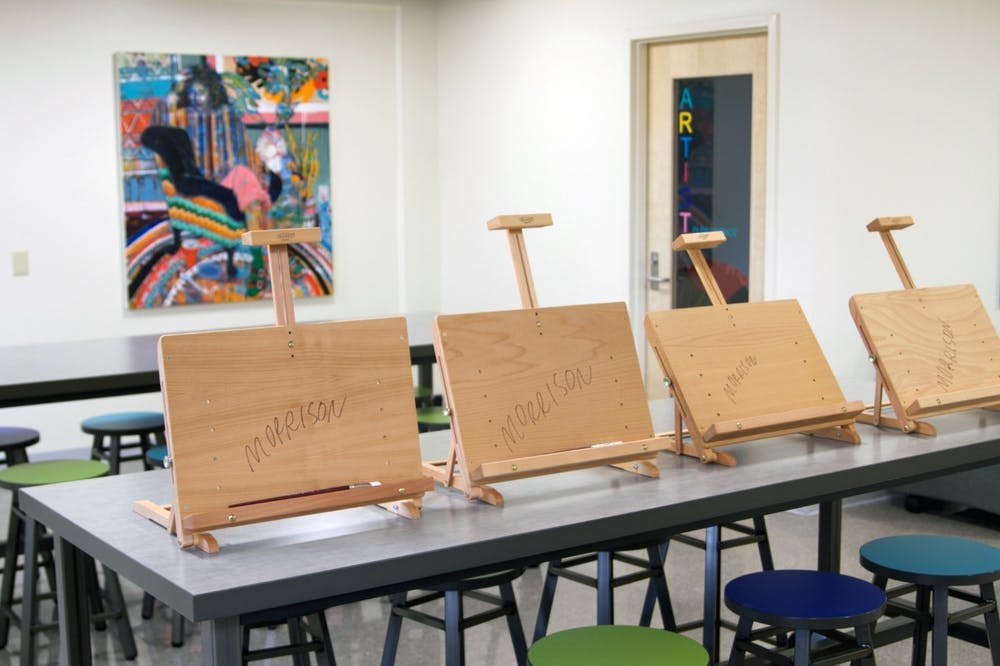 Learn how to paint a self-portrait at the Morrison Art Studio