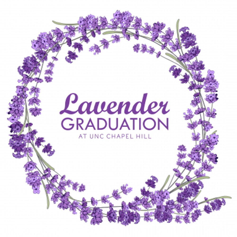 Carolina Blue and lavender too at the LGBTQ Center's 13th annual Lavender Graduation