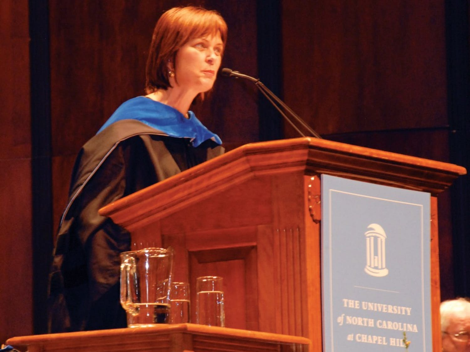 Heather Munroe-Blum was the keynote speaker Tuesday. She is the 16th principal and vice chancellor of McGill University in Montreal.