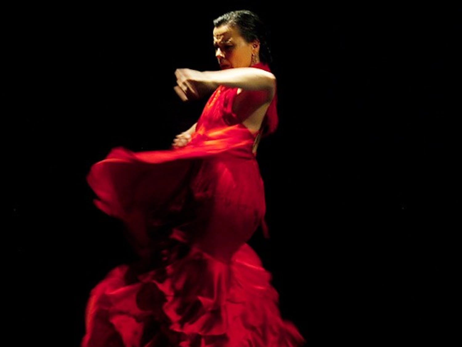 Noche Flamenca, a group of dancers, singers and instrumentalists, will perform a sold-out show at Memorial Hall tonight.