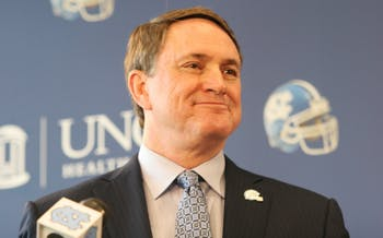 Signing Day for the new football recruits. Coach Butch Davis explains how this year's recruiting process went.