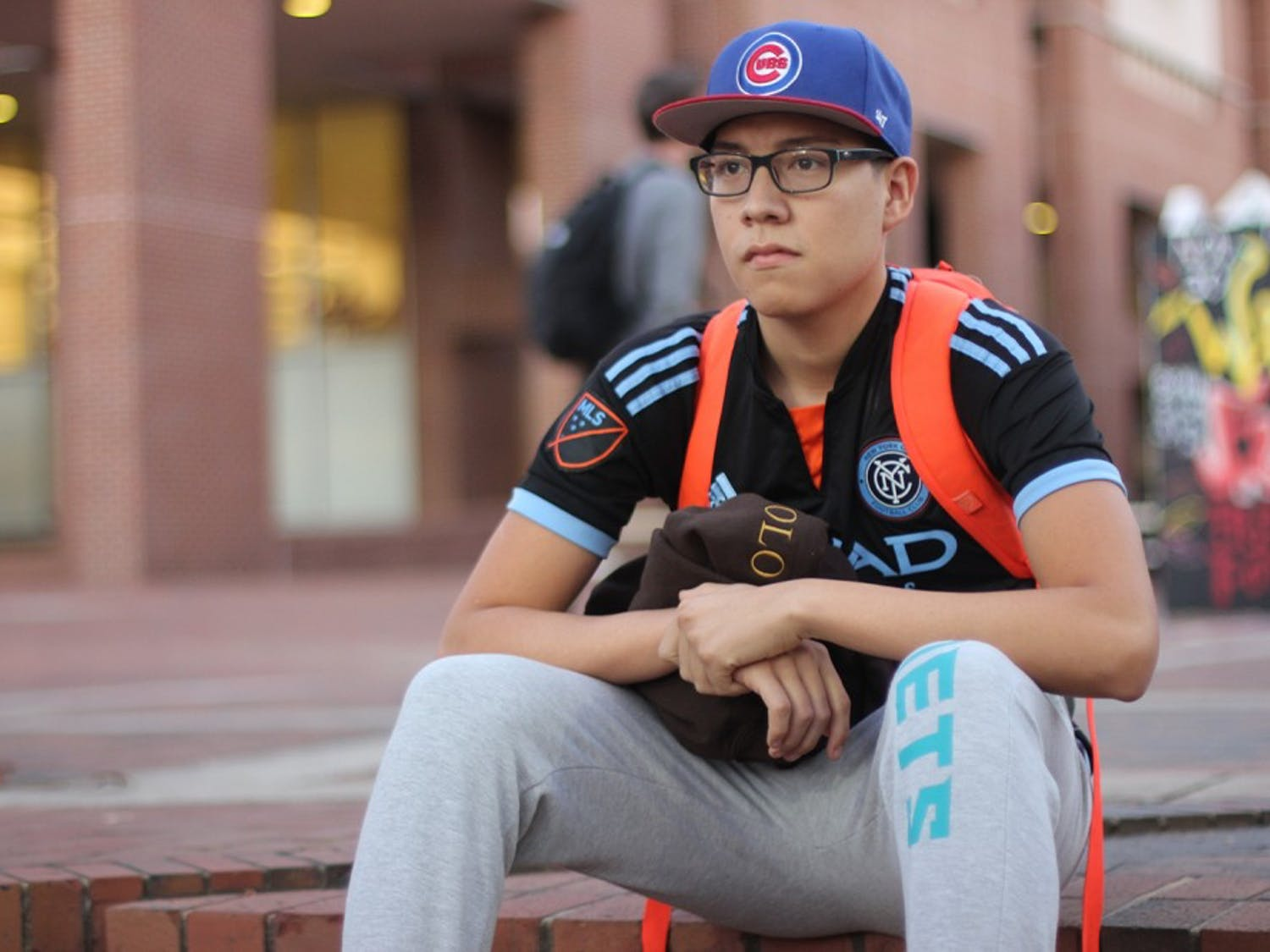 Sophomore Bryant Parroquin is the Communications Assistant for the Carolina Latina/o Collaborative.