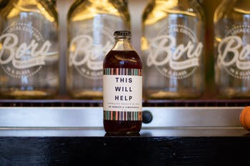 All profits from This Will Help, a new kombucha from Chapel-Hill-based Boro Beverage Company, will be donated to help immigrants in the Chapel Hill-Carrboro area.