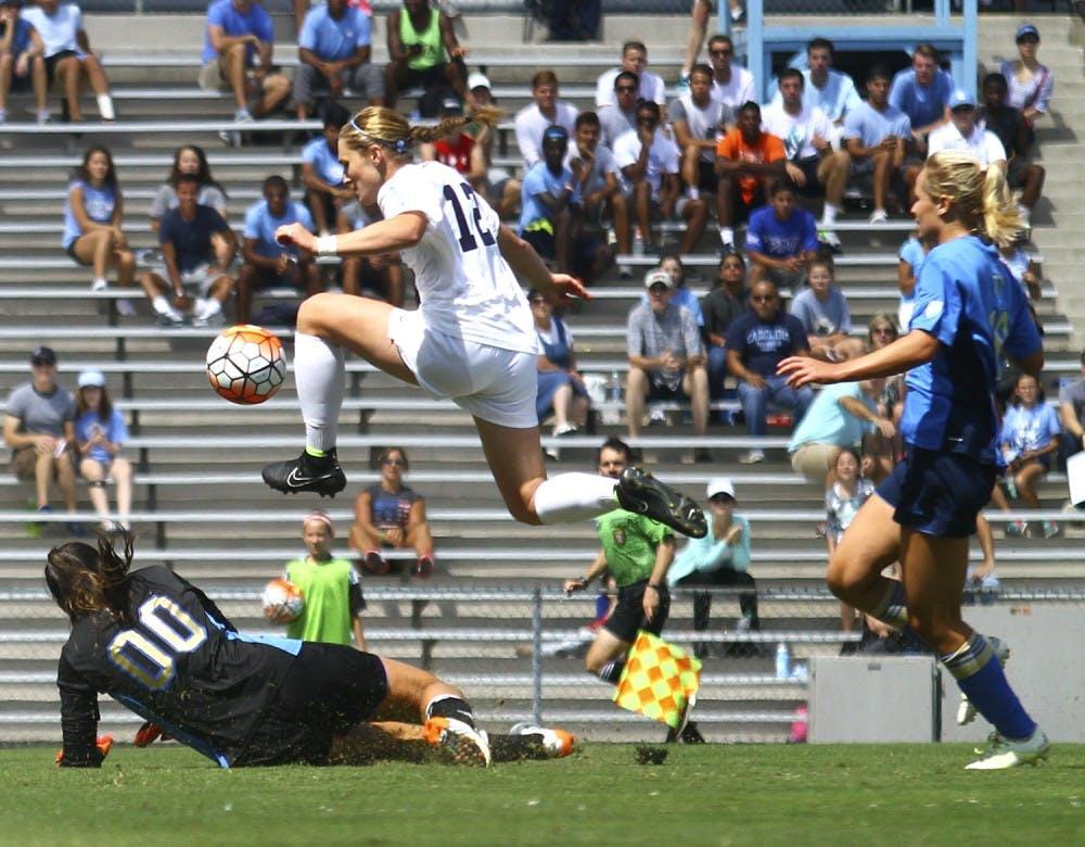 Scarpa leads UNC women's soccer in points