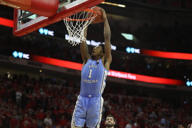 No. 12 UNC defeated No. 15 N.C. State 90-82 in PNC Arena on Tuesday, Jan. 8, 2019.