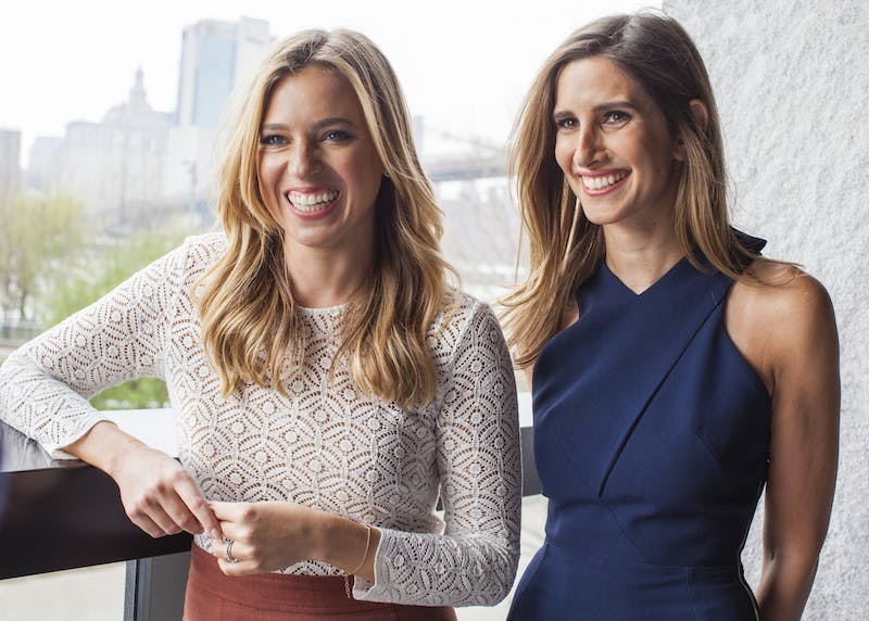 Carly Zakin and Danielle Weisberg are co-Founders and co-CEOs of theSkimm. Photo courtesy Sharon Suh.