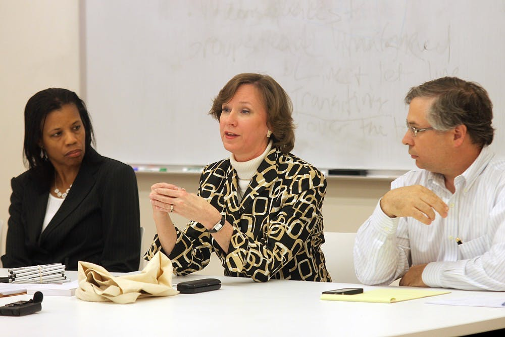 Faculty athletics committee holds open forum for input
