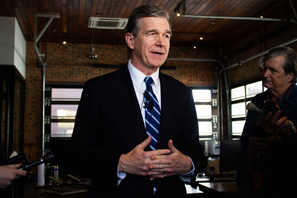 Cooper extends North Carolina's stay-at-home order until May 8, talks reopening plans