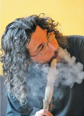 Adam Bliss's hookah bar, Hookah Bliss, has been fined for violating the state's indoor smoking ban. DTH file/BJ Dworak