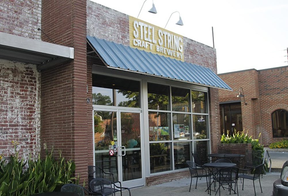 Steel String Brewery raises money to install an outside patio