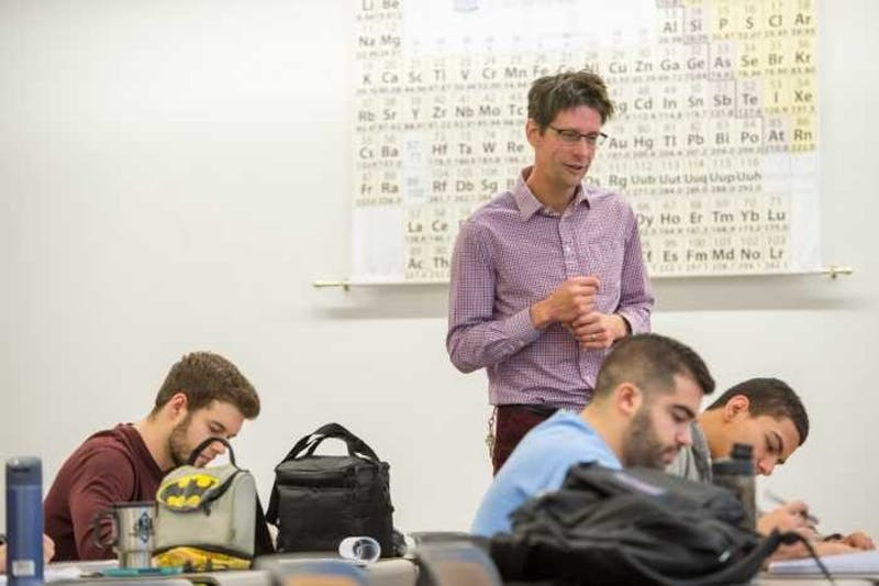 Jeffrey Johnson supervises a class. Photo courtesy of Steve Exum.