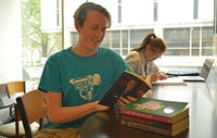 Perry Morrison, a senior majors in Communications at UNC-CH, is a student author and has a book that will come out on Apr.1.