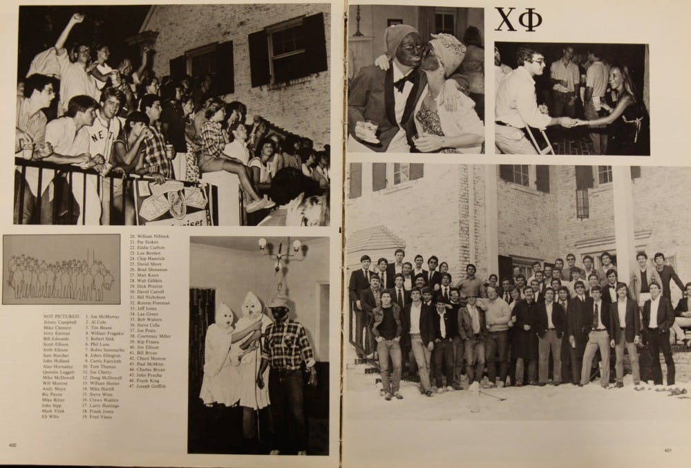 Photos of blackface in UNC yearbooks reflect on the University's history of racism
