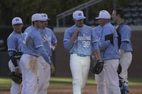 Pitcher J.B. Bukauskas (38) is pulled out of the game against Long Beach Friday afternoon.