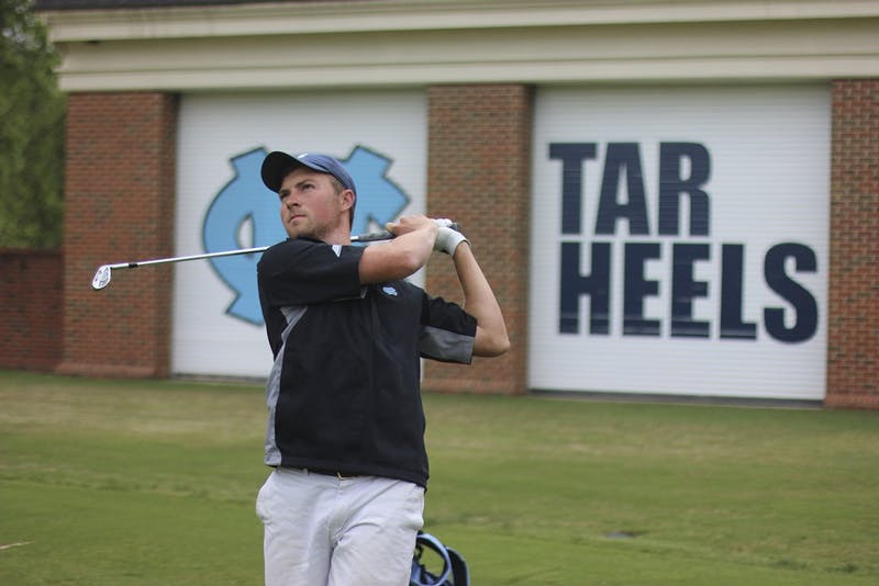Ben Griffen is playing in his junior season for UNC's men's golf team.
