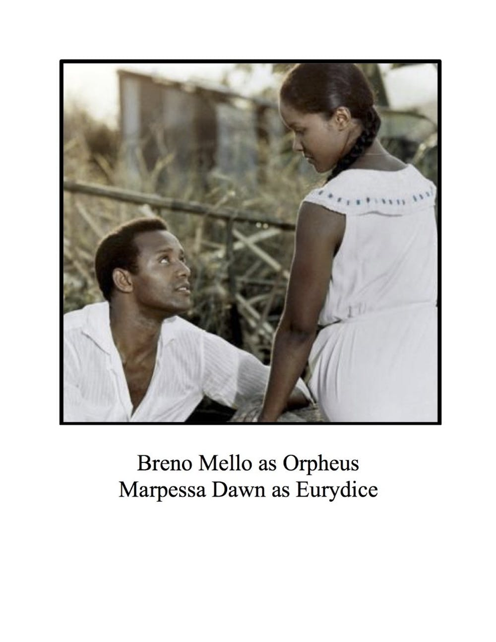 Showing of 'Black Orpheus' hopes to spark discussion about the ethics of filmmaking